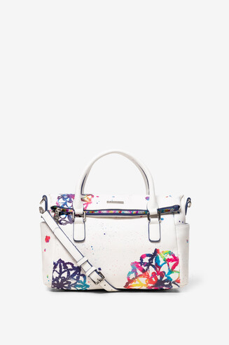 White Bag with Mandalas Loverty