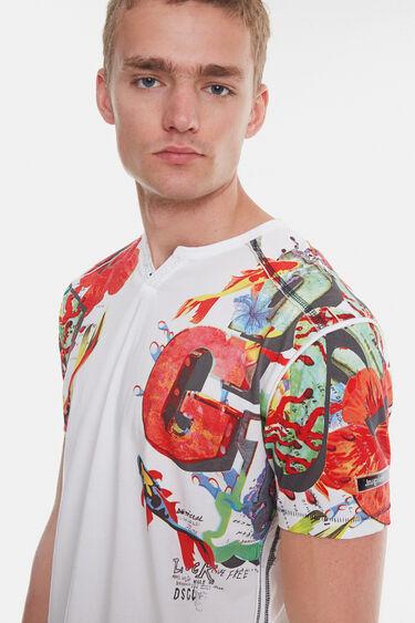 Maglietta arty hawaiana | Desigual