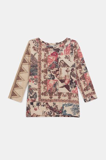 ボーホー パッチワークTシャツ | Desigual