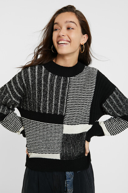 Pull maille épaisse