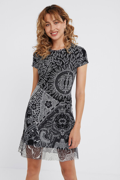 Multilayer ethnic dress