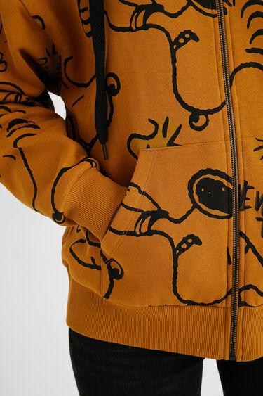 Sweatjacke Oversize Snoopy | Desigual