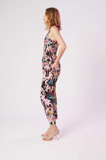 Enkellange mom fit broek | Desigual