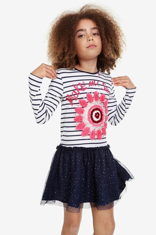 Shirt-Kleid mit Tüllrock | Desigual