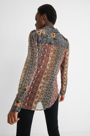 Boho shirt Lurex | Desigual
