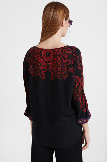 Blusa boho floral | Desigual