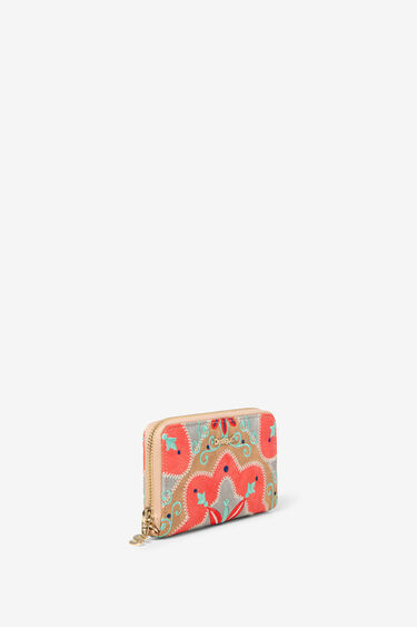 Monedero bordado mex Mary Jackson Zip | Desigual