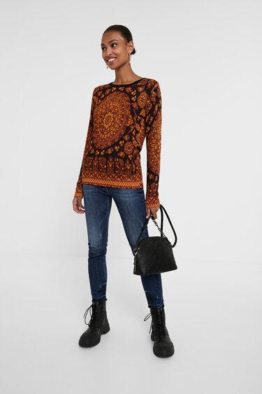 Boho knit jumper | Desigual