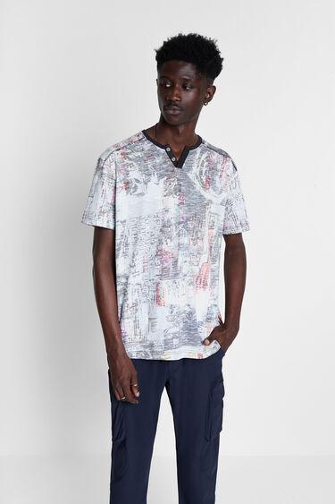 Reverse effect garment T-shirt | Desigual