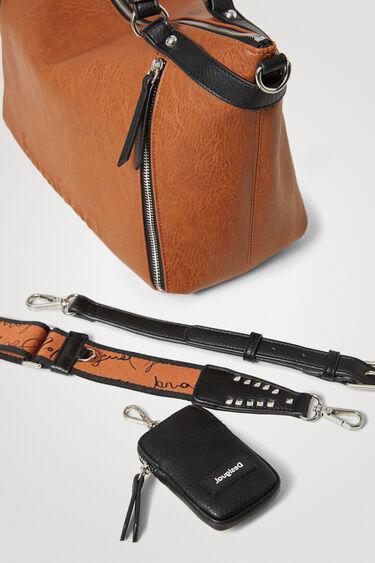 Big handbag solid colour | Desigual
