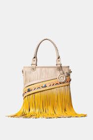 Tasche mit Fransen mit Farbverlauf | Desigual