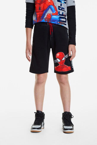 Bermuda sportif Spiderman