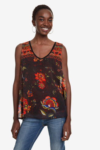 Floral Blouse Olaf