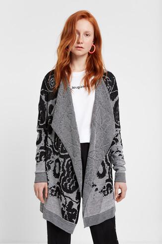 Knit floral jumper