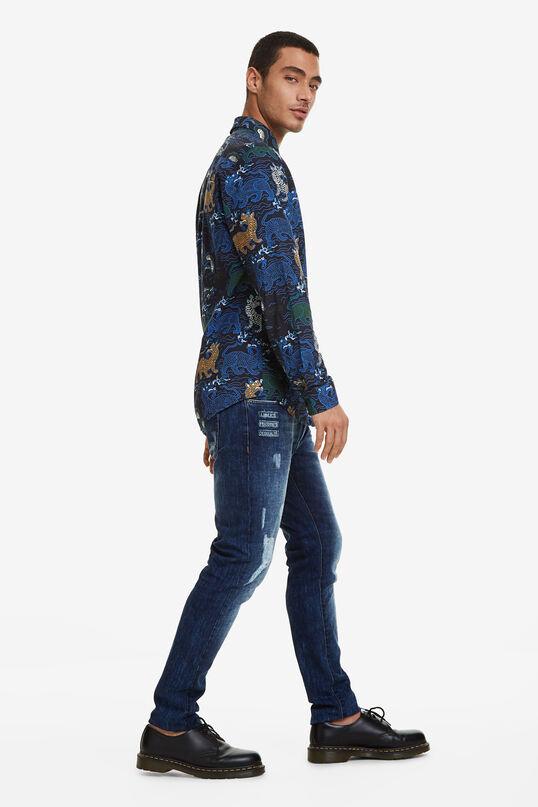 Slim long sleeve shirt | Desigual