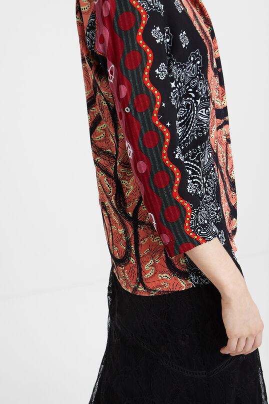 Camisa oriental boho   Desigual