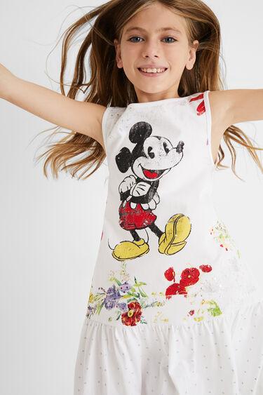 Mickey Mouse cotton dress | Desigual
