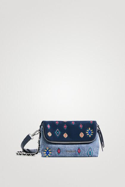 Sling bag embroidered boho