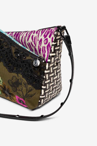 Mini bag patch fabrics and textures | Desigual