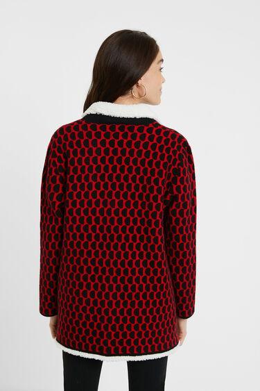 Veste tricot sherpa | Desigual