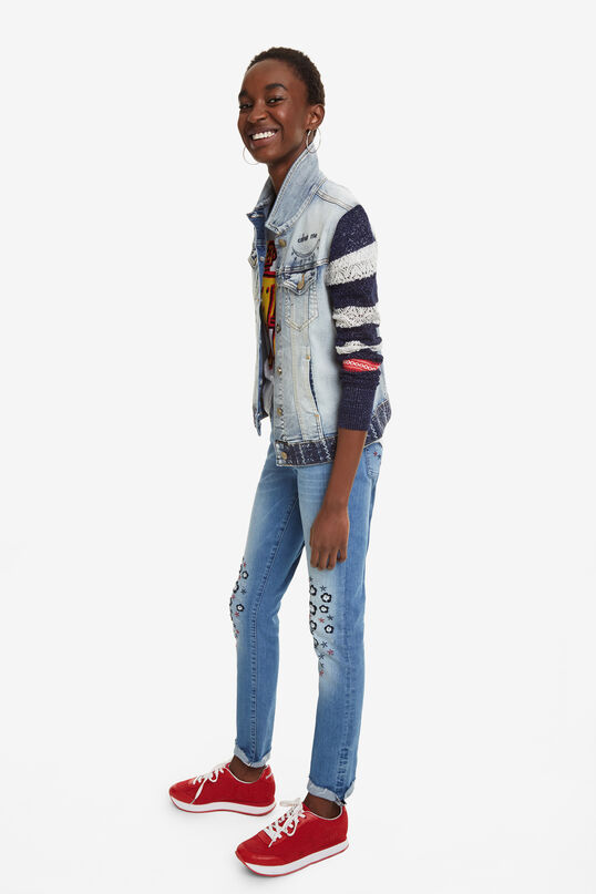 Denim and Knit Jacket Sailor Lover | Desigual