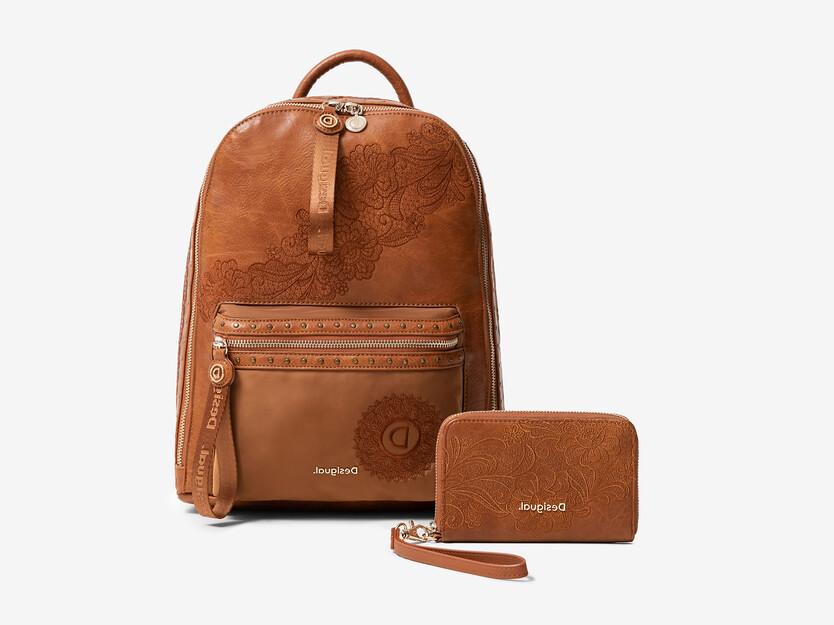 Ensemble sac à dos et porte-monnaie