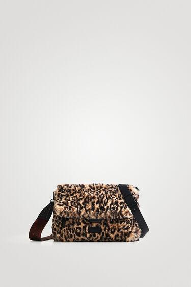 Sling bag fur animal print | Desigual