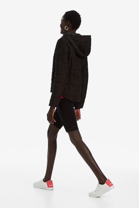 Short padded jacket with hood   Desigual