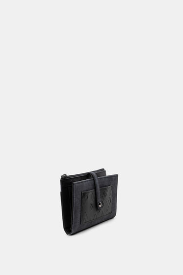 Long coin purse denim | Desigual