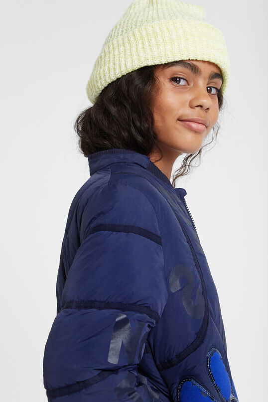 Long down jacket Mandarin collar | Desigual