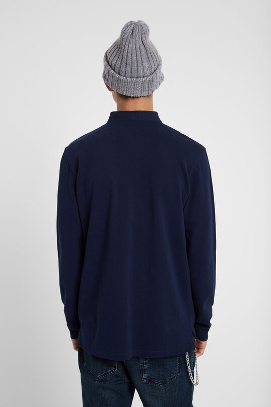 Long-sleeved polo shirt | Desigual