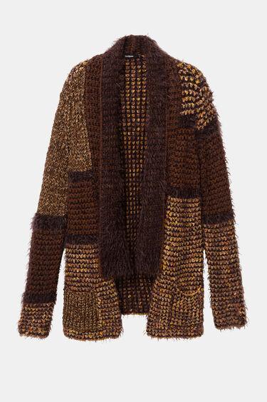 Chunky open patch jacket | Desigual