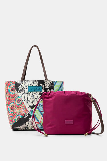 Two in one multiprint bag | Desigual