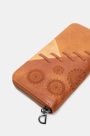 Längliches Portemonnaie Patch | Desigual