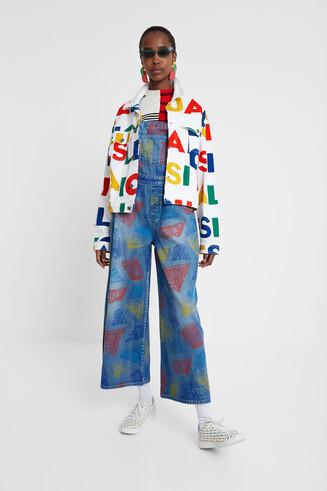 Jeans-Jacke Logomania