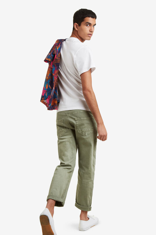 Military trousers with zips Joel | Desigual