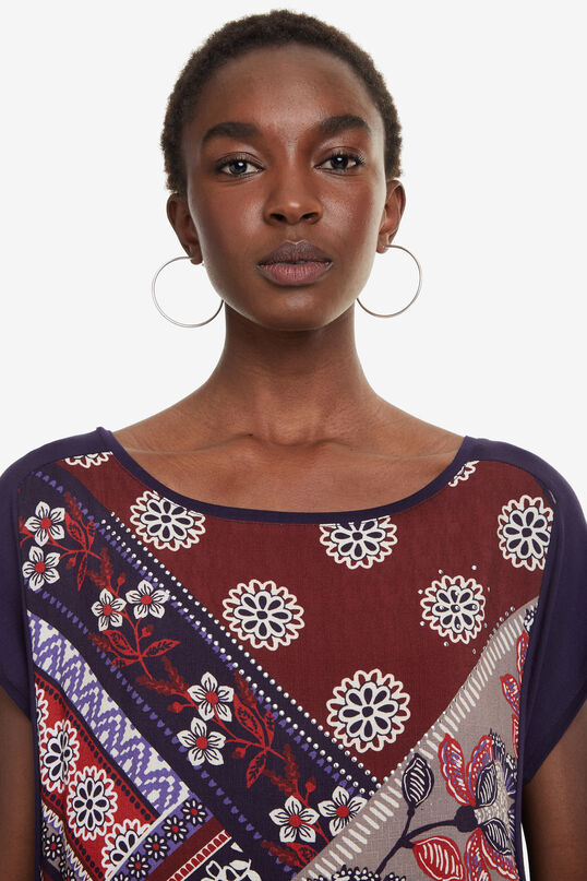 Boho Two-Fabric T-shirt Ganges | Desigual