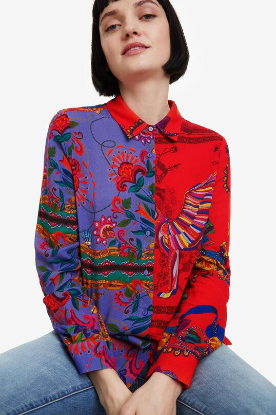 Floral patchwork shirt Nayeli | Desigual