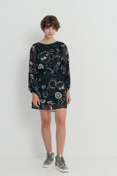 Vestido viscosa estampado | Desigual