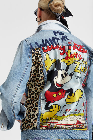 Kurtka jeansowa z motywem Myszki Miki | Desigual