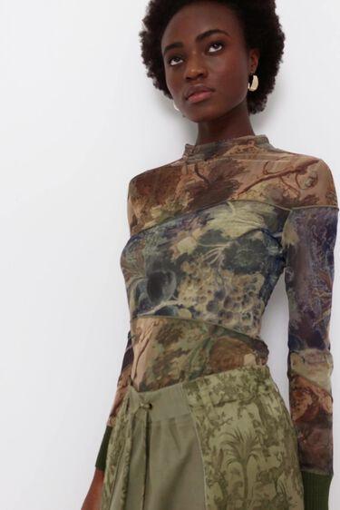 Slim arty T-shirt | Desigual