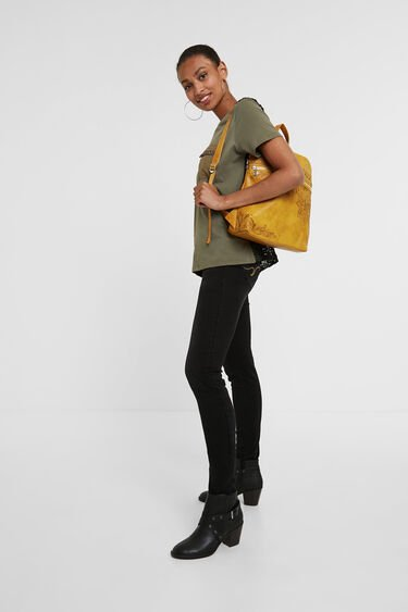 Exotic embroideries backpack | Desigual
