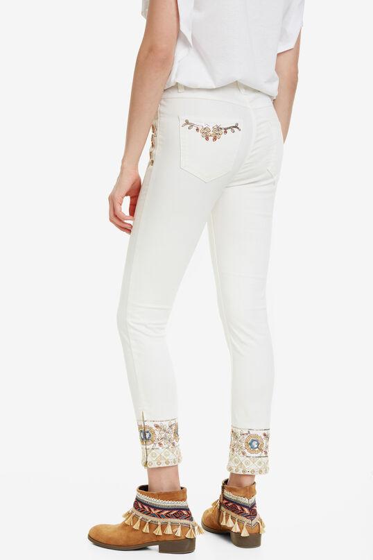 Slim Boho Jeans Sari White | Desigual