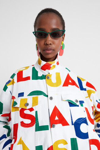Colourful Logomania Jacket Dsgl