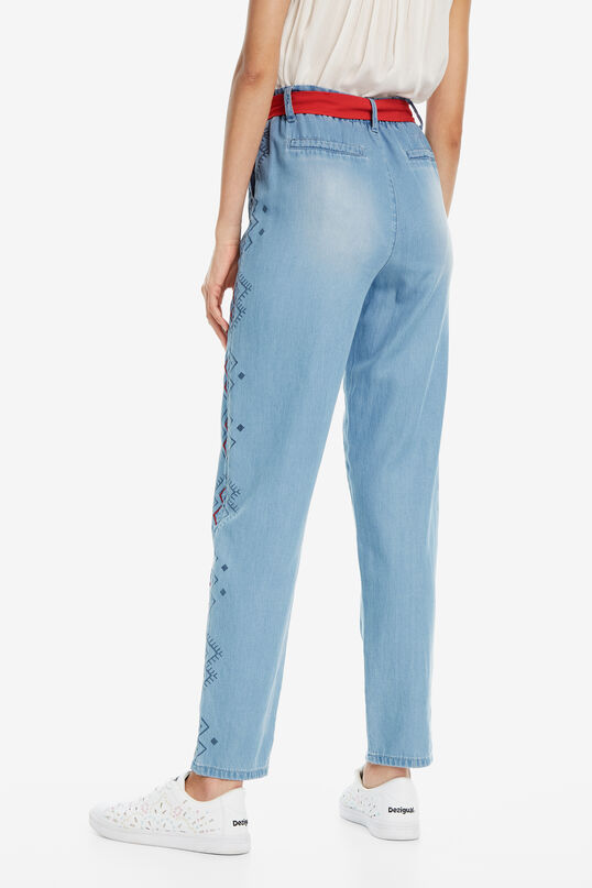 Embroidered Jeans Mekane | Desigual