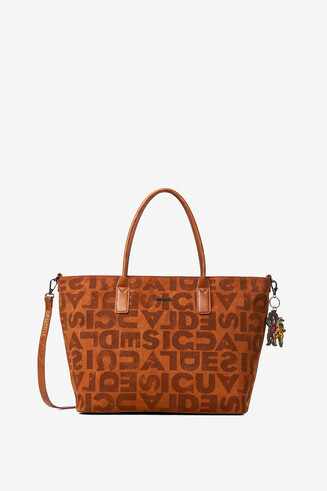 Shopping bag bandolera logomania