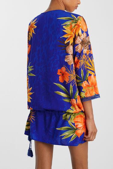 Short kaftan floral   Desigual