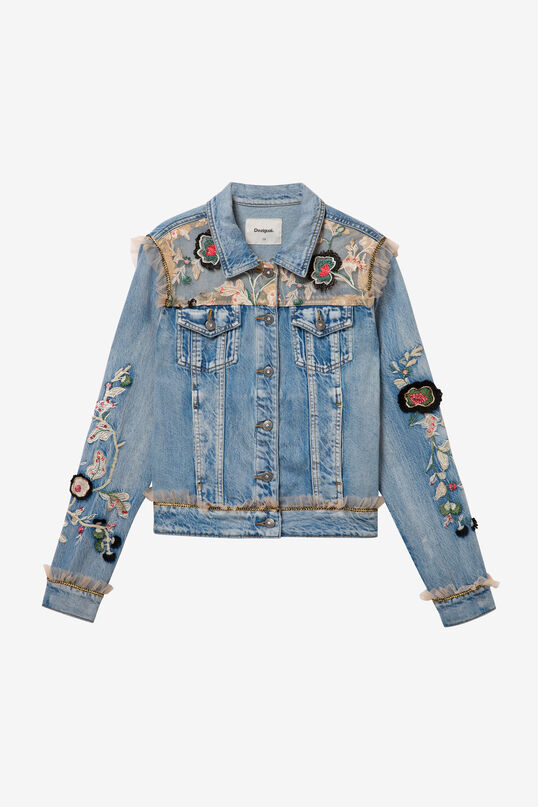 Jacket Flowers & Pearls | Desigual