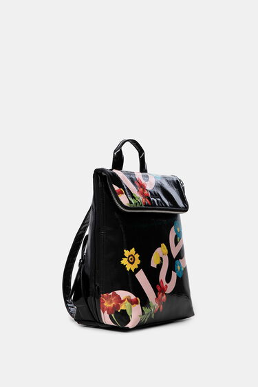 Square backpack flowers | Desigual