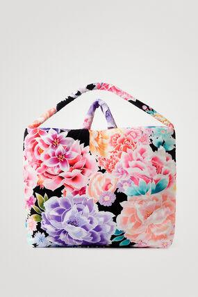 Floral oversized handbag